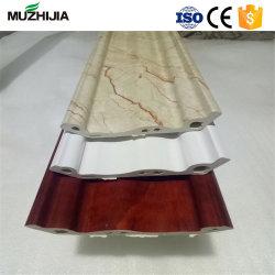 Espuma de PVC forro plástico cornija de moldagem para interior em mármore de PVC forro de folhas Decoração de parede