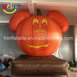 La decoración de Halloween de aire inflables inflables calabaza fundido