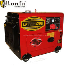 Режим ожидания 5 КВА 4 квт Silent Desiel двигателя генератор для использования в домашних условиях