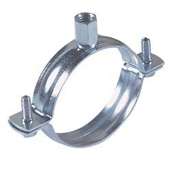 La fabricación de metales soporte de tubo de acero abrazaderas de tubo colgador de acero al carbono