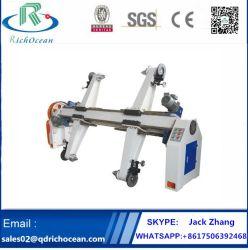 Zjv-E Type de papier Carton Ondulé Shaftless moulin électrique Pied à roulettes
