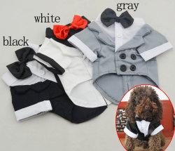 Partie chien costume officiel Pet vêtement Tuexdo doux