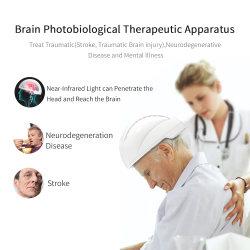 Nurofeedback 810 نانومتر العلاج بضوء عصبي غاما موجات الأمعال Nir Photobodulation الأشعة تحت الحمراء LED محول تحفيز الدماغ المغناطيسي عبر الدماغ المغناطيسي للإحباط