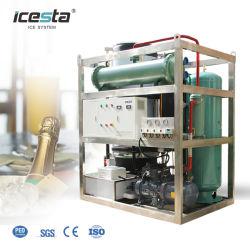 Macchina industriale commerciale per la produzione di ghiaccio a tubo 10t con compressore Bitzer