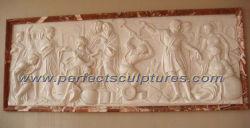 Alívio da escultura em mármore de pedra para Pendurar na Parede decoração Arte (SY-R032)