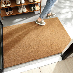 Binnen/buiten natuurlijke Coir Fiber Spring/Summer Doormat Palm natuurlijke deurmatten