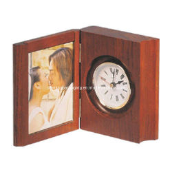 Folding Clock Stand W/Photo Frame (DJ070015)