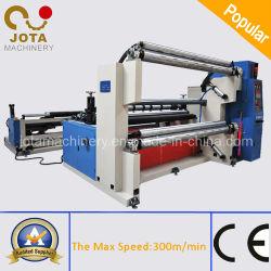Rouleaux de film plastique automatique Jumbo Sliting machines (JT-SLT-2100C)