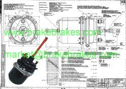 Raum bremst T24/24dp für Teile der LKW-Bremsen-/Bremssystem-Teil-/Aufhebung