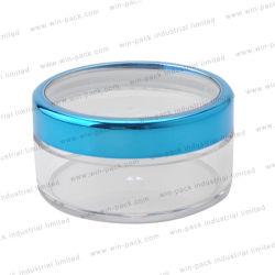 التغليف التجميلي وحدة العناية بشعة صغيرة صندوق علبة مسحوق مع ذراع النقل