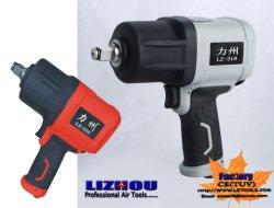 """LIZHOU Hot LZ-318 1/2"""" 1100~1320N M 트윈 해머 공압 렌치 공압 공구 고정용 공구 공압 임팩트 렌치 자동차 공구 에어 임팩트 렌치"""