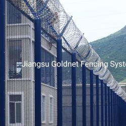 عالية الجودة حديقة لفنش المعادن الفولاذ الصلب السلك الأمن تنظيم سياج يسيّج [نتنينغ] لوحة سجن