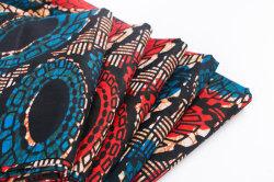 アフリカの模造ワックスの布、さまざまな花カラー、中国のエクスポートの製造業者のChangxing Wanduの織物