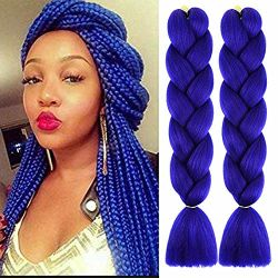 Alta Qualidade x pressão de pêlos sintéticos Crochê Braids Jumbo entrelaçando as extensões de cabelo