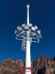 سابعة شمسيّة عادية ضغطة صوديوم [فلوود ليغت] عادية سارية إنارة مع شمسيّة [لد] [ستريت ليغت]