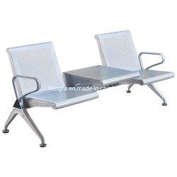 Moderne Besucher Möbel Public mit Tisch Sitz Metall Wartebank