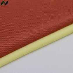 Ebene des Gewebe65%t35%c färbte gerades Streifen-Gewebe der Hemd-Verzerrung-Knitting1*1
