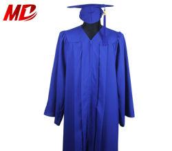 Erwachsene königliches Blau-Staffelung-Schutzkappen-Kleid-Troddel für Highschool