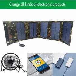 Outdoor Wasserdicht Folding Bag Wiederaufladbare Handy-Batterie 15W Solar Panel Travel Charger