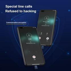 Mobiele telefoon Smart Phone Holder met Data Encryption, Communcation en andere encryptie voor veilig
