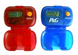 Le podomètre et la promotion compteur de pas (IP-207)