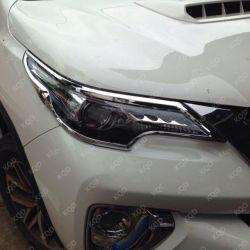 아BS 플라스틱 SUV 차 부속품 Fortuner 2016~on를 위한 맨 위 램프 덮개