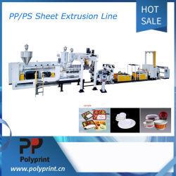 PS PP Pet multicouche PLA feuille/Ligne de production d'extrusion de film plastique Machine de l'extrudeuse de rouleau