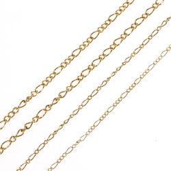 형식 Hot Selling Necklace Jewelry Decoration Accessories Curb Chain Long와 Short 1:3
