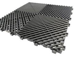 Перфорированные взаимосвязанных гараж плитками на полу являются наиболее эффективными взаимосвязанных гараж пол керамическая плитка на рынке. Изготовлен из прочного No-Break из полипропилена