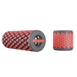 筋肉のためのアマゾン卸し売り引き込み式の拡張タイプEPEの練習のマッサージのローラーの棒の格子小型折りたたみヨガの泡のローラー