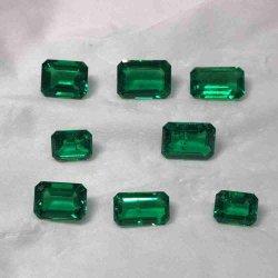 高品質の宝石類の作成のための熱水エメラルドのコロンビアのエメラルド