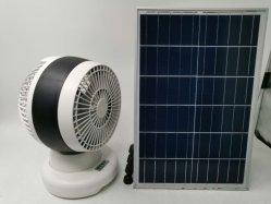 12V DC Batería solar la energía con ventilador de refrigeración Solar panel solar
