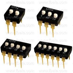Interrupteur de l'interrupteur DIL CMS (l'interrupteur DIL DP-03)