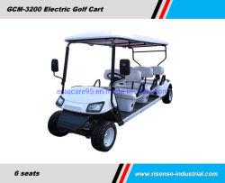 72V電池のゴルフコースへの小型電気ゴルフトロリーが付いている電気ゴルフカート