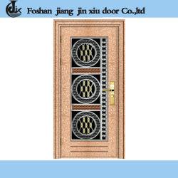 Estilo Vintage color cobre metálico de acero Puerta de seguridad para la lucha ladrón