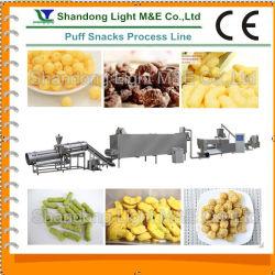 La extrusora doble tornillo de inflar las tapas de la línea de procesamiento de alimentos (LT65, LT70, LT85)