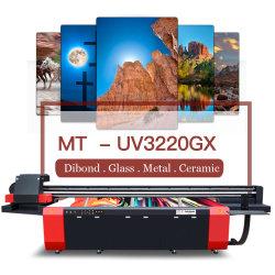디지털 대형 포맷 UV 평판 프린터(금속 PVC용 판금 세라믹 나무 유리 인쇄
