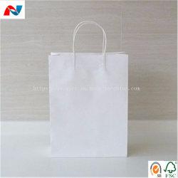 Papel kraft blanco blanqueada 80gsm para las bolsas de papel