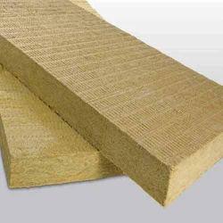 Absorción acústica de la Junta de aislamiento de lana de roca laminados con láminas de aluminio