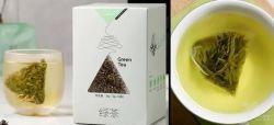 Al vapor orgánico de la bolsa de té verde té orgánico de la UE