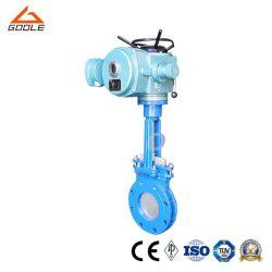 전기 플랜지 나이프 게이트 밸브(GAZ943F)
