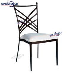 Cruz de Metal Ferro Sinoworld Volta Napoleon Chiavari banquete de núpcias Hotel cadeiras