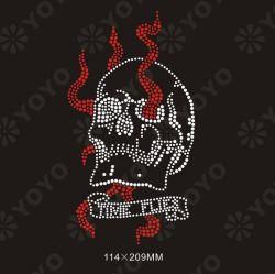 Hot Fix Estrás Motif - cráneo (YO-S002)