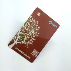 بطاقة مفتاح الغرفة ذات مستوى أمان عالٍ تبلغ 13.56 ميجا هرتز PVC Proximity MIFARE بطاقة Smart RFID بدقة 2K 4K وسرعة 8 آلاف لفة في الدقيقة من DESFire EV1