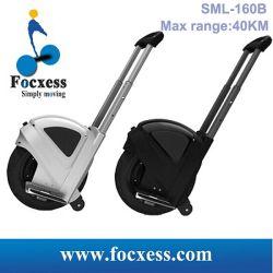 Neues Focxess Sml-160b, das elektrisches Unicycle-Roller-Schwarzes Selbst-Balanciert