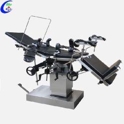 ステンレス鋼の整形外科の手動油圧手術台