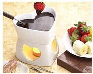 O Coração Mini fondue de chocolate (TS-1571)