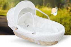 Baby-Korb-Baby-Korb-Handkorb-Auto-Schlafenkorb-beweglicher Baby-Korb
