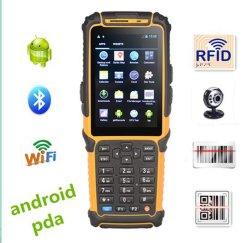 El dispositivo Bluetooth de 3G el lector de tarjetas RFID PDA escáner láser de códigos de barras TS-901