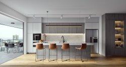 De In het groot Houten Keukenkasten van Foshan voor het Gebruik van het Huis